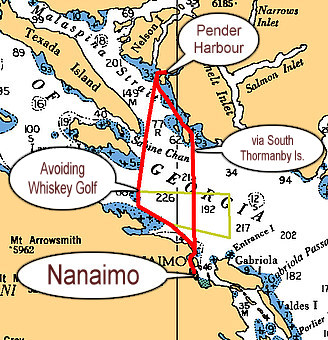 how to get to pender island from nanaimo